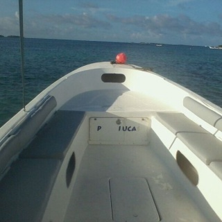 Fishing panga boat
