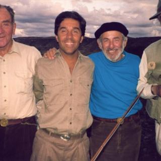 Jorge Donovan, Mario Lussich, Mel Krieger y Bebe Anchorena.