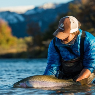Rainbow Trout - Traful River - Arroyo Verde Lodge
