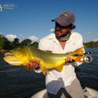 Loving him...thanking him - Golden Fly fishing.