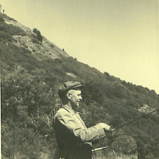 From old times.... the Nordahl Olsens have been avoid fishermen - Fly fishing