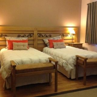 Doubole room at San Huberto Lodge