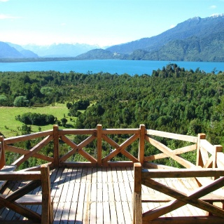 Panoramic view -  Yelcho en la Patagonia Lodge