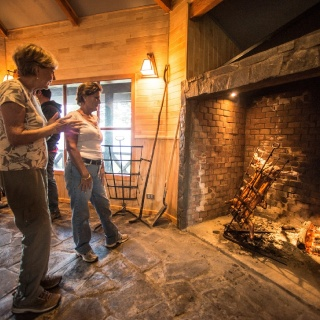 Asado -  Yelcho en la Patagonia Lodge