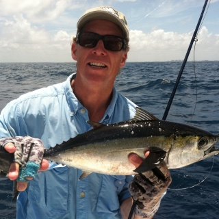 Bill w/his 1st Black Fin Tuna