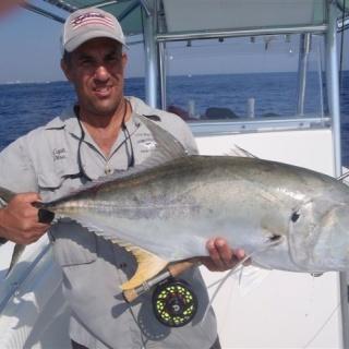 27# Jack taken in 120 feet of water