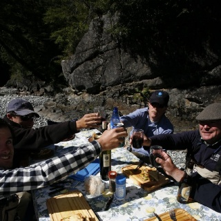 Lunch - Hess Channels - Rio Manso Lodge