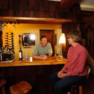 Rio Manso bar - Rio Manso Lodge