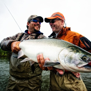Just one of the many photos that have been used elsewhere taken at Angler's Alibi over the years.  Nice buck silver!