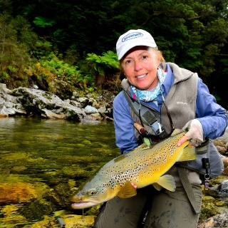 Another stunning wild New Zealand brown trout