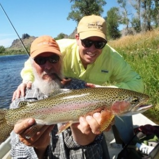 Montana Rainbow form one of our Destination Trips