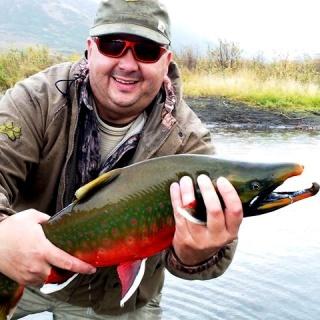 Way to go Joe!  (Yes that was Joe with  Char on the Kanektok river!