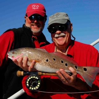 redfishing on the Neuse River with Bob Clouser