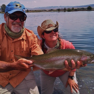 A dandy rainbow from our private water!