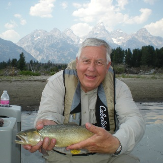 WY Senator Mike Enzi fishes with us every year