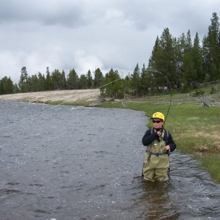 Firehole River in Yellowstone