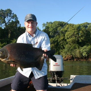 Pacu On Dry Flies - High Parana