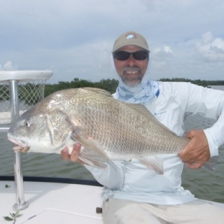 September is the time for the big black drum