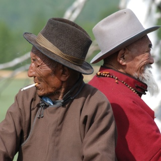 Mongolia's people are special as its fish.  Kindness and hospitality beyond measure.