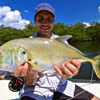 Jim's first Jack Crevalle on the Fly