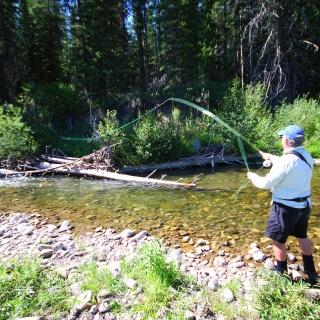 Elk River tribuatary
