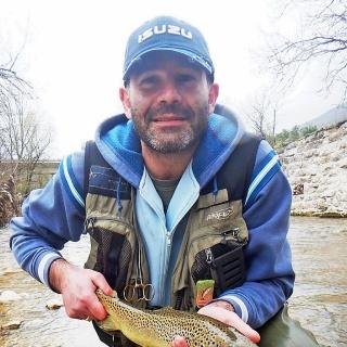 Fario trout Burano River Italy