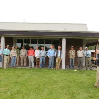 En la capacitación de Instructores Master para el EDP (Examiners Pathway Development), en Livington Montana, para poder convertirme en examinador de la IFFF.)  In Examiners Pathway Development (EDP) classes, in Livington Montana, to become a examiner.