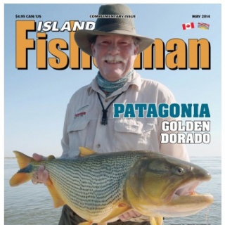 The owner of the Magazine caught his Gold in only one day of fishing - Golden Fly fishing.