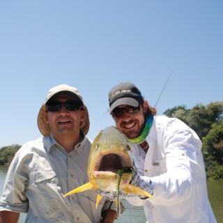 Golden Dorado face! goldenflyfishing.com