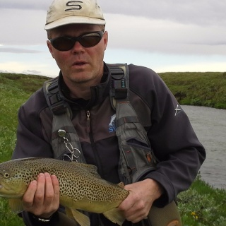 Trout from Svartá in Bárðardal