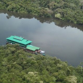 Aerial view of the Ecolodge #03