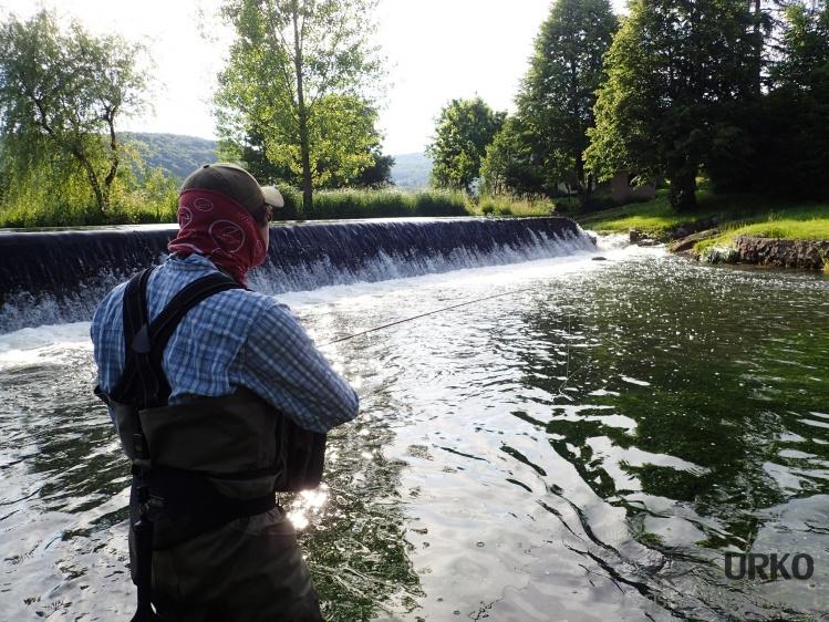 Krka River, Krka, Dolenjska region, Slovenia