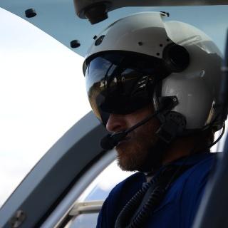 Lakutaia Lodge helicopter