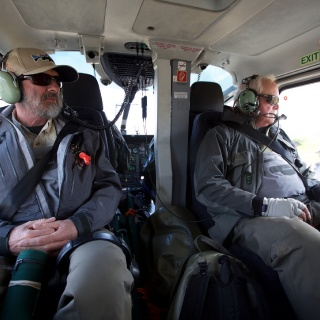 Almost there - Heli Fly fishing - Lakutaia Lodge
