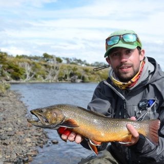 Fly fishing Lakutaia Lodge  - Chile