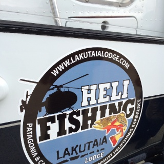 Heli Fishing - Lakutaia Lodge