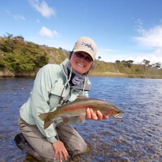 Another fine rainbow - Lakutaia Lodge