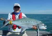 Fly-fishing Photo of Queenfish shared by Peter Cooke – Fly dreamers