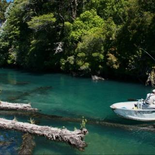Yelcho River -  Yelcho en la Patagonia Lodge