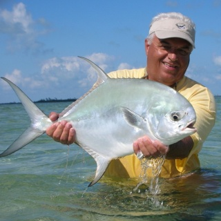 Permit Fly fihsing - Ascension Bay Bonefish Club