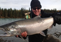 Bill Fowler 's Fly-fishing Pictureof a Coho salmon– Fly dreamers