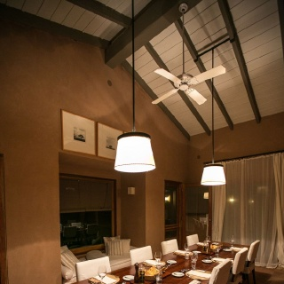 Pira Lodge dinning room