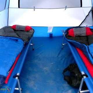 The best equipment for a confortable rest at our riverside camp.