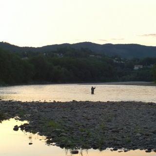 Tail of Stasjonshölen pool