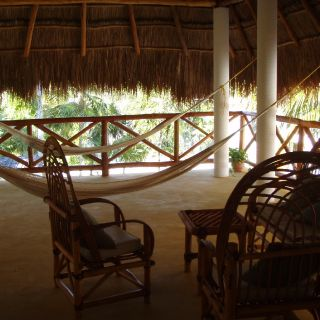 relax corner with hammock - Punta Allen fishing club