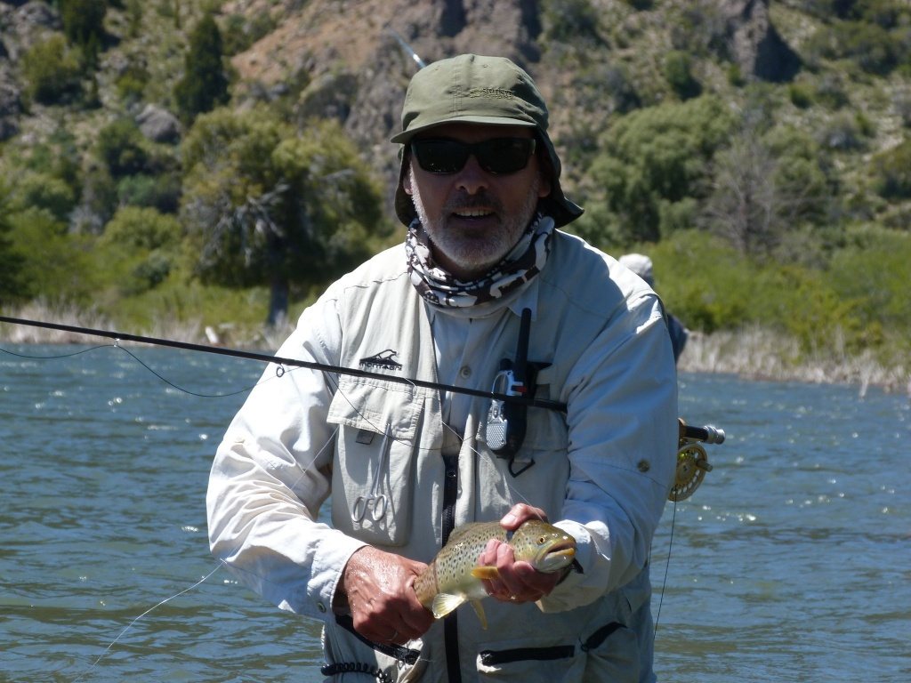 Berninzoni pablo fly fishing guide fly dreamers directory for Fly fishing book