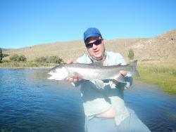 Limay River, San Carlos de Bariloche, Neuquen - rio negro, Argentina