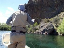Rio Limay superior, San Carlos de Bariloche, Neuquen - rio negro, Argentina