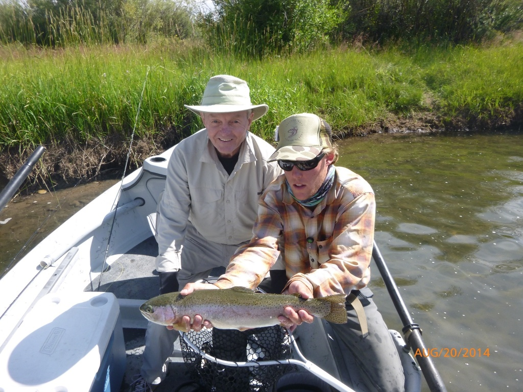 Caleb lehner fly fishing guide fly dreamers directory for Fly fishing book