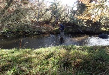 Good Fly-fishing Situation of Brown trout - Picture shared by Benjamin Marolda – Fly dreamers